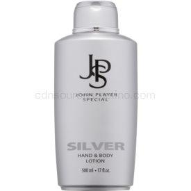 John Player Special Silver telové mlieko pre mužov 500 ml