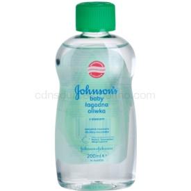 Johnson's Baby Care detský olej s aloe vera 200 ml