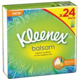 Kleenex Balsam papierové vreckovky 24 x 9 ks