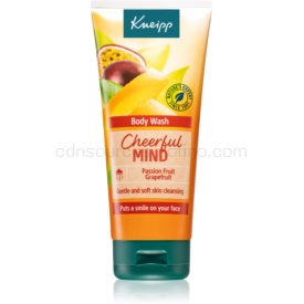 Kneipp Cheerful Mind Passion Fruit & Grapefruit energizujúci sprchový gél 200 ml