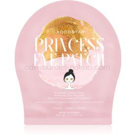 KOCOSTAR Princess Eye Patch hydrogélová maska na očné okolie pre mladistvý vzhľad 3 g