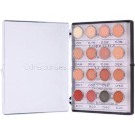 Kryolan Dermacolor Camouflage System mini paleta krémových korektorov s vysokým krytím 16 farieb odtieň No. 2 12 g