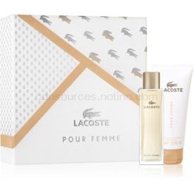 Lacoste Pour Femme darčeková sada IX. parfém 50 ml + telové mlieko 100 ml