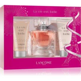 Lancôme La Vie Est Belle darčeková sada parfémovaná voda 30 ml + sprchový gel 50 ml + telové mlieko 50 ml