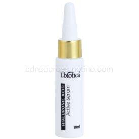 L'biotica Active Serum Hyaluronic Acid hydratačná a spevňujúca starostlivosť s regeneračným účinkom 10 ml