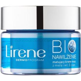 Lirene Bio Hydration hydratačný krém so zmatňujúcim efektom pre mastnú a zmiešanú pleť 50 ml
