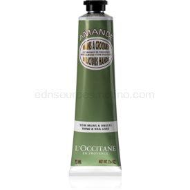 L'Occitane Amande hydratačný a vyživujúci krém na ruky a nechty 75 ml