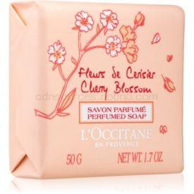 L'Occitane Fleurs de Cerisier parfémované mydlo pre ženy 50 g