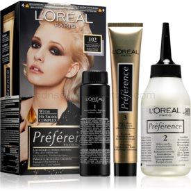 L'Oréal Paris Préférence farba na vlasy odtieň 102