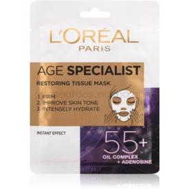 L'Oréal Paris Age Specialist 55+ plátenná maska pre intenzívne vypnutie a rozjasnenie pleti