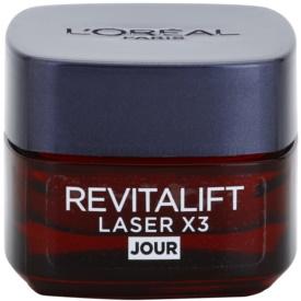 L'Oréal Paris Revitalift Laser X3 denný krém proti starnutiu pleti 15 ml
