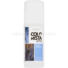 L'Oréal Paris Colorista Spray farba na vlasy v spreji odtieň Pastel Blue 75 ml