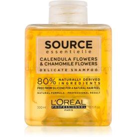 L'Oréal Professionnel Source Essentielle Calendula Flowers & Chamomile Flowers jemný šampón na vlasy 300 ml