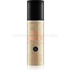 Makeup Revolution Glow Revolution rozjasňujúci sprej na tvár a telo odtieň Eternal Gold 200 ml