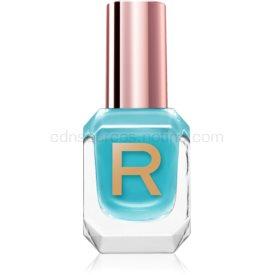 Makeup Revolution High Gloss vysoko krycí lak na nechty s vysokým leskom odtieň Aqua 10 ml