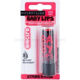 Maybelline Baby Lips Electro balzam na pery s jemným sfarbením odtieň Strike A Rose 4,4 g