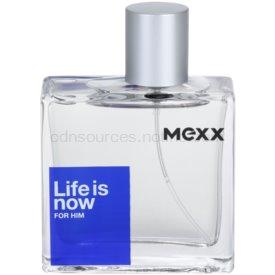 Mexx Life is Now for Him toaletná voda pre mužov 50 ml