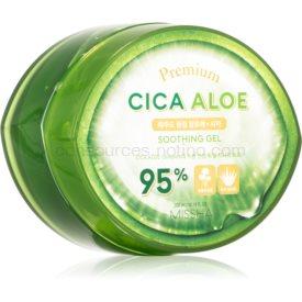 Missha Premium Cica Aloe hydratačný a upokojujúci gél s aloe vera 300 ml