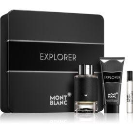 Montblanc Explorer darčeková sada I. parfém 100 ml + parfém 7,5 ml + balzam po holení 100 ml