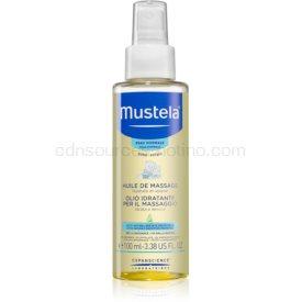 Mustela Bébé masážny olej pre deti od narodenia 100 ml