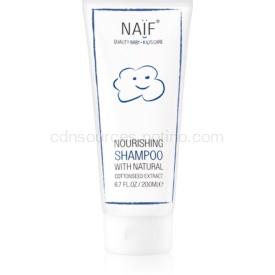 Naif Baby & Kids výživný šampón pre detskú pokožku hlavy 200 ml
