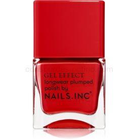 Nails Inc. Gel Effect dlhotrvajúci lak na nechty odtieň St James 14 ml