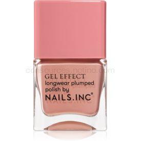 Nails Inc. Gel Effect dlhotrvajúci lak na nechty odtieň Uptown 14 ml