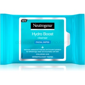 Neutrogena Hydro Boost® Face vlhčené čistiace obrúsky na tvár 25 ks