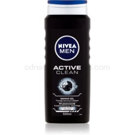 Nivea Men Active Clean sprchový gél na tvár, telo a vlasy pre mužov 500 ml