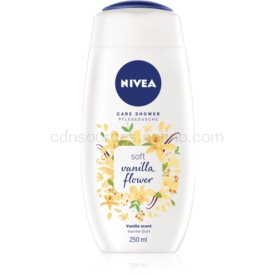 Nivea Care Shower Vanilla Shower jemný sprchový gel 250 ml