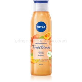 Nivea Fresh Blends Apricot & Mango & Rice Milk osviežujúci sprchový gél 300 ml