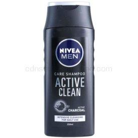 Nivea Men Active Clean šampón s aktívnymi zložkami uhlia 250 ml