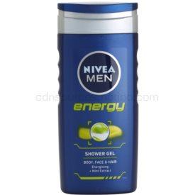 Nivea Men Energy sprchový gél na tvár, telo a vlasy 250 ml