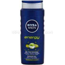 Nivea Men Energy sprchový gél na tvár, telo a vlasy 500 ml