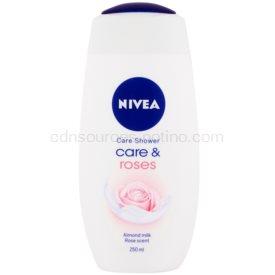 Nivea Care & Roses upokojujúci sprchový gél 250 ml