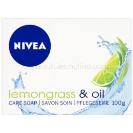 Nivea Lemongrass & Oil tuhé mydlo 100 g