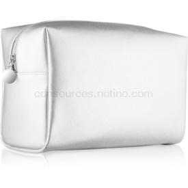 Notino Basic kozmetická taška dámska veľká strieborná (26 × 16 × 11 cm)