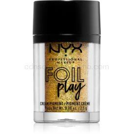 NYX Professional Makeup Foil Play trblietavý pigment odtieň 08 Pop Quiz 2,5 g