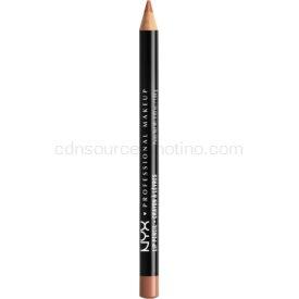 NYX Professional Makeup Slim Lip Pencil ceruzka na pery odtieň Soft Brown 1 g