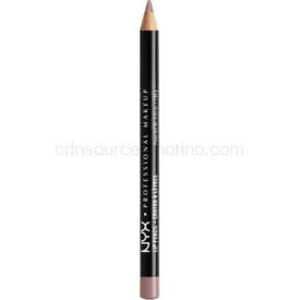 NYX Professional Makeup Slim Lip Pencil ceruzka na pery odtieň Never 1 g