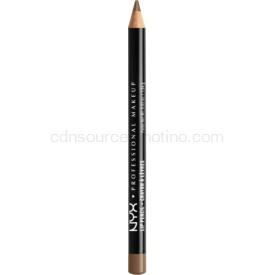 NYX Professional Makeup Slim Lip Pencil ceruzka na pery odtieň 833 Chestnut 1 g