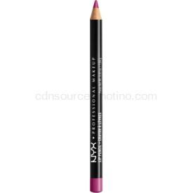 NYX Professional Makeup Slim Lip Pencil ceruzka na pery odtieň Purple Rain 1 g