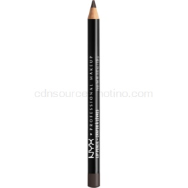 NYX Professional Makeup Slim Lip Pencil ceruzka na pery odtieň Black Berry 1 g
