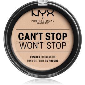 NYX Professional Makeup Can't Stop Won't Stop púdrový make-up odtieň 2 - Alabaster 10,7 g