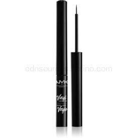 NYX Professional Makeup Vinyl lesklé tekuté linky na oči odtieň 01 Black 2 ml