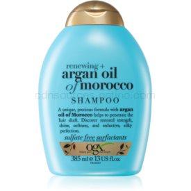 OGX Argan Oil Of Morocco obnovujúci šampón na lesk a hebkosť vlasov 385 ml