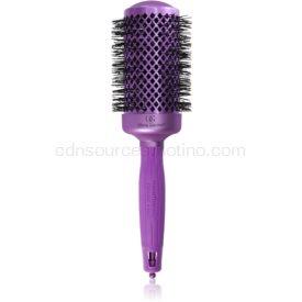 Olivia Garden Nano Thermal Violet Edition guľatá kefa na vlasy 54 mm