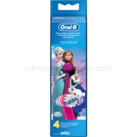 Oral B Stages Power Frozen EB10K náhradné hlavice 4 ks Extra Soft
