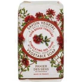 Panier des Sens Red Thyme povzbudzujúce rastlinné mydlo 150 g