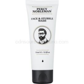 Percy Nobleman Face & Stubble čistiaci gél na tvár a fúzy 75 ml